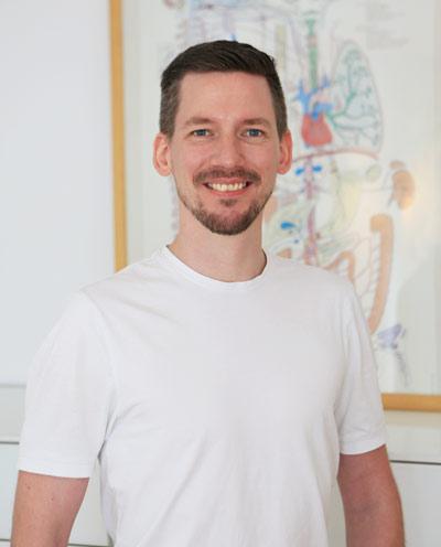 Porträt von Stefan Sebastian Becker Osteopath